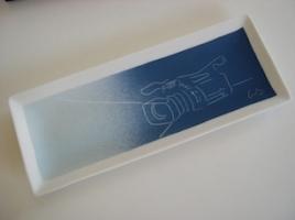 Bandeja portalápices personalizada