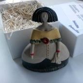 Reproducción escultórica de La Menina