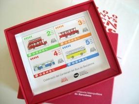 Placa de metacrilato personalizada con una imagen representativa, realizada por encargo por TMB