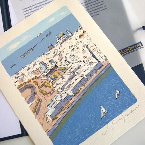 Serigrafía original en edición limitada