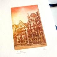 Edición de grabados Casa Batlló