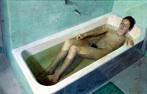 Desnudo en bañera por Antonio López